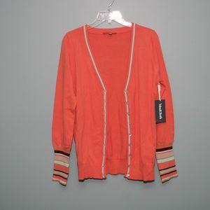 NWT Modcloth Orange Cardigan